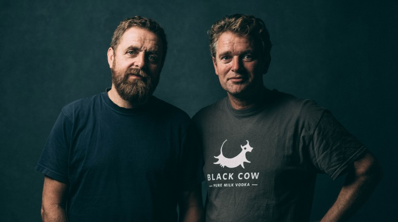 MWC: Archie & Jason from Black Cow Vodka